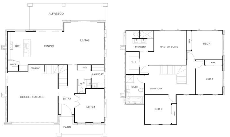 ALEXANDRIA 254 Floor Plan