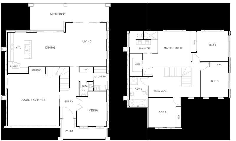 ALEXANDRIA 254 Floor Plan