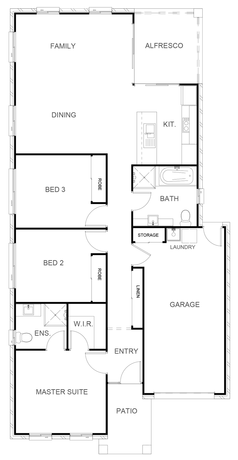 ARIZONA 138 Floor Plan