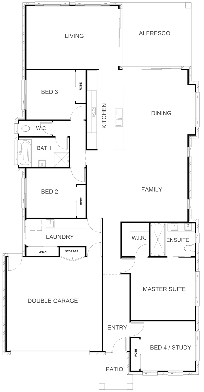 BIRTINYA 242 Floor Plan