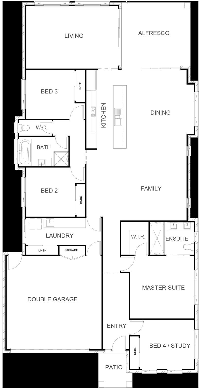 BIRTINYA 242 Floor Plan