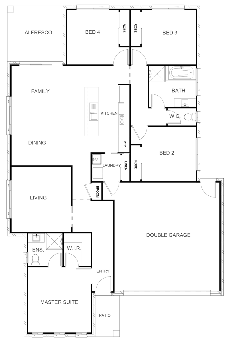 BOSTON 187 Floor Plan