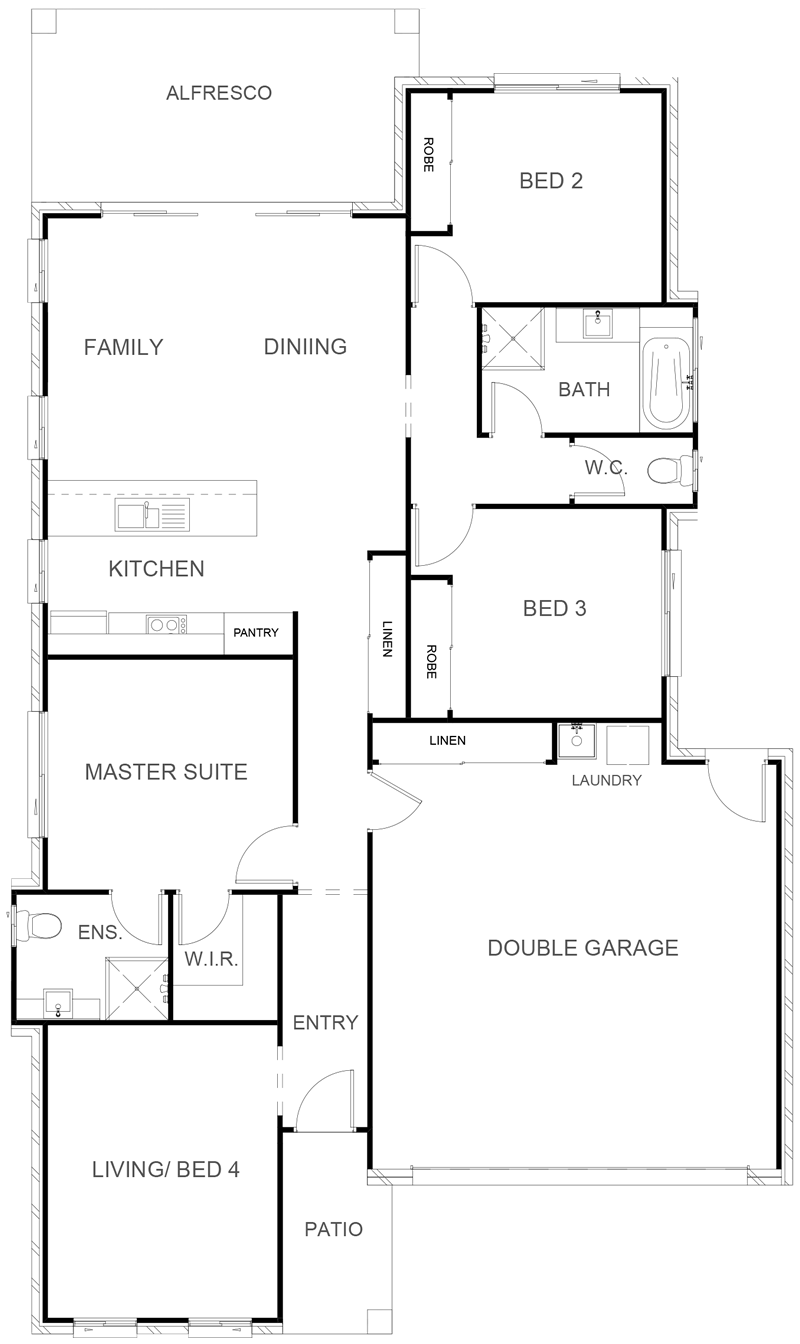 BRAMPTON 176 Floor Plan