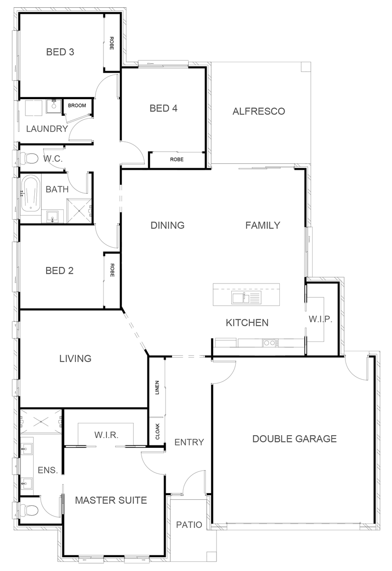 BROADWAY 215 Floor Plan