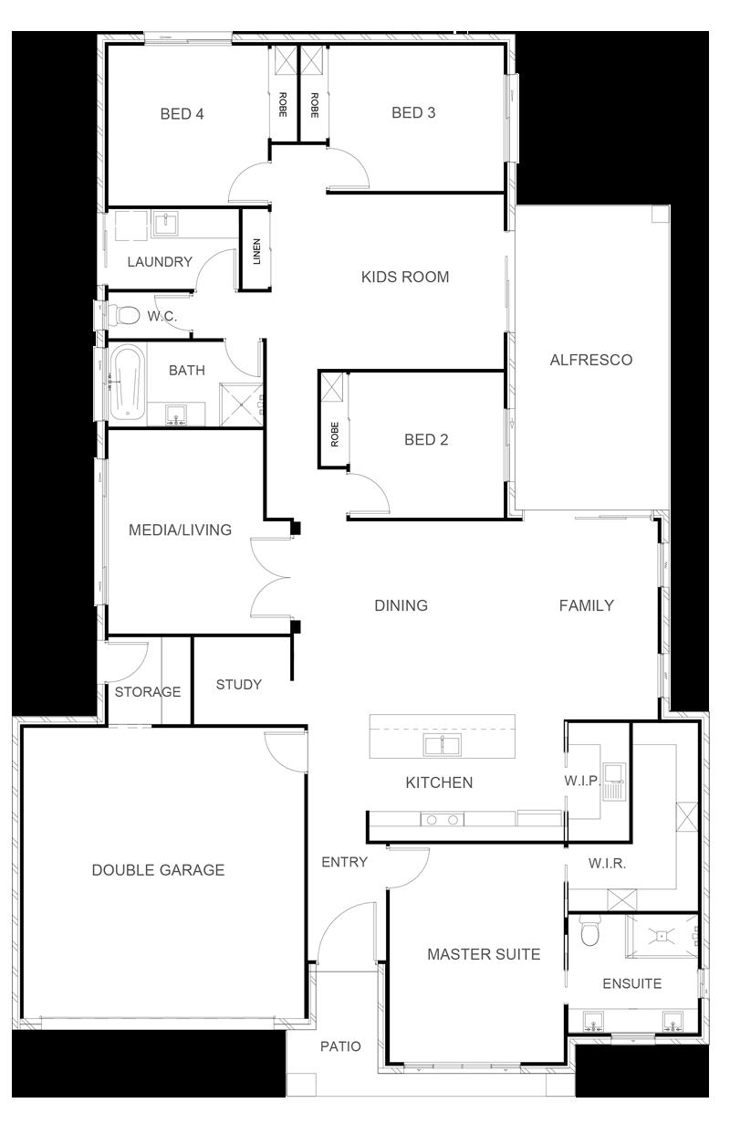 CARSON 257 Floor Plan