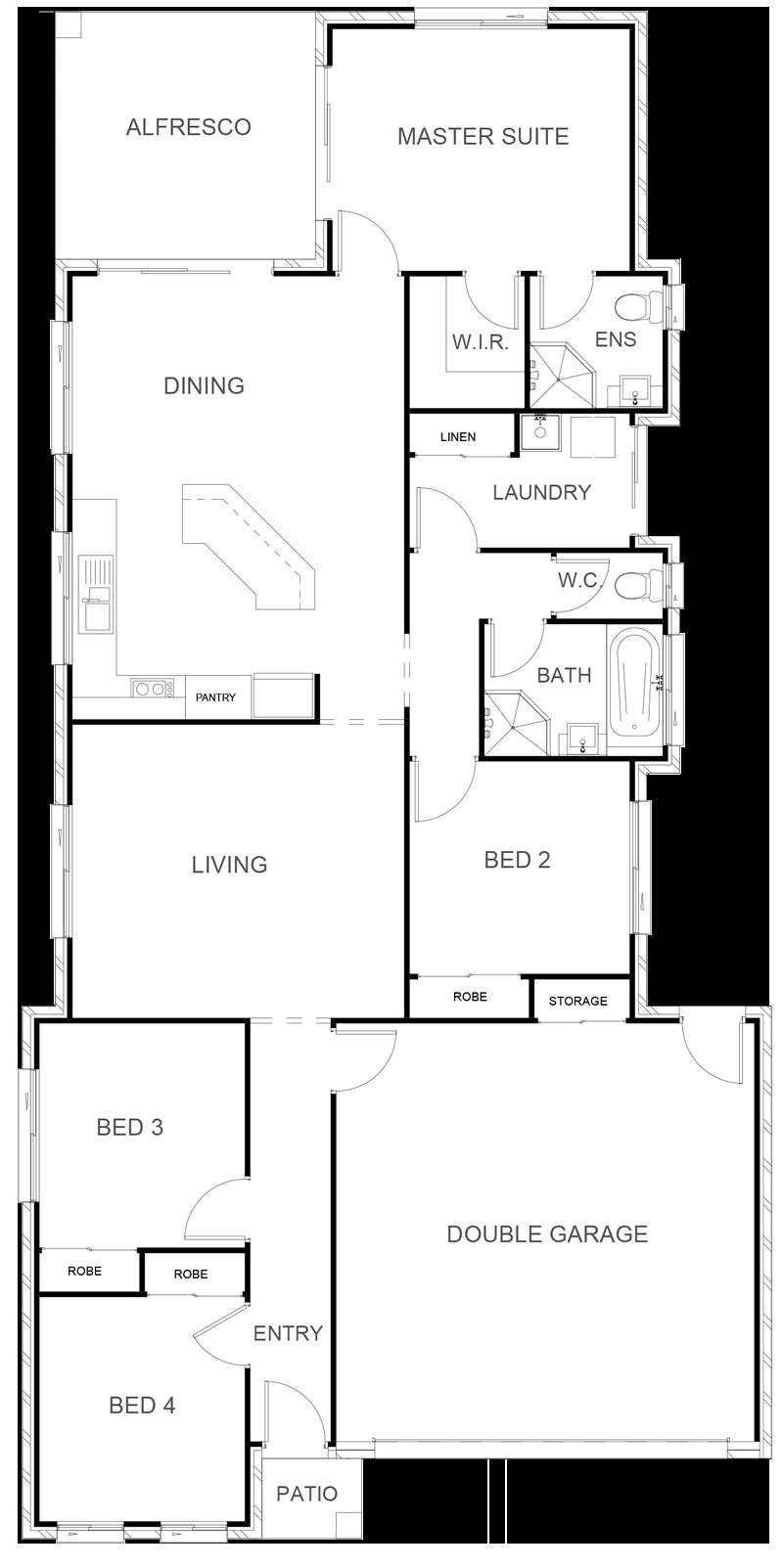 CHELSEA 179 Floor Plan