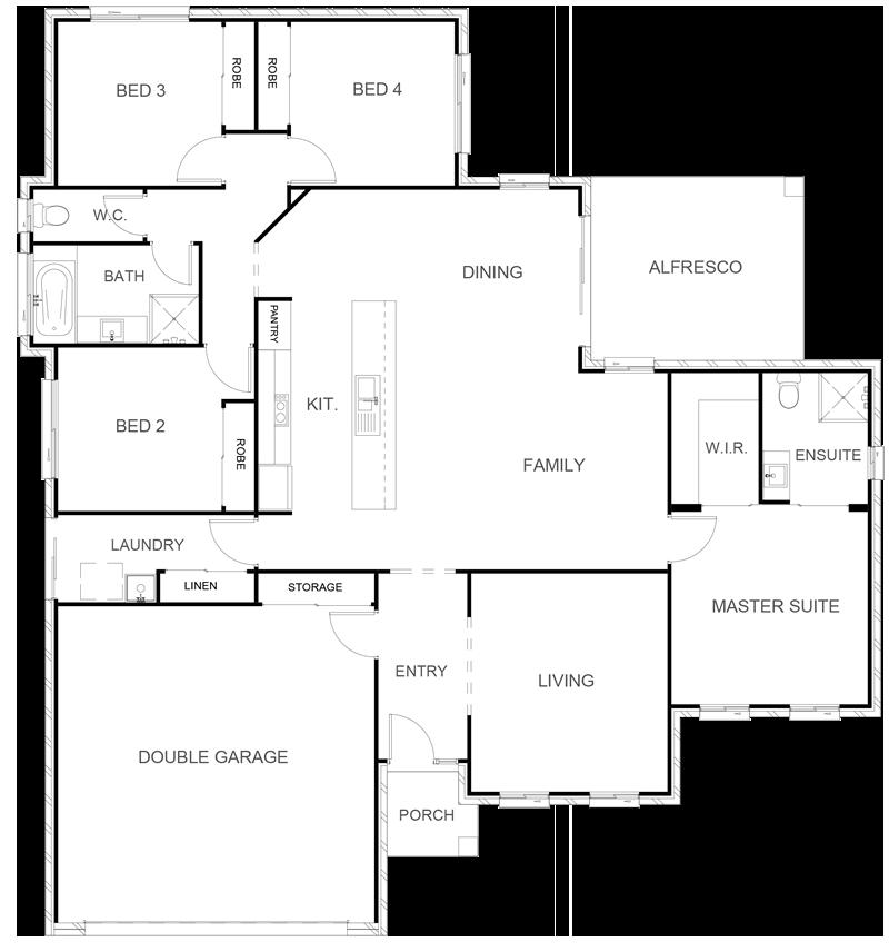 COLORADO 207 Floor Plan