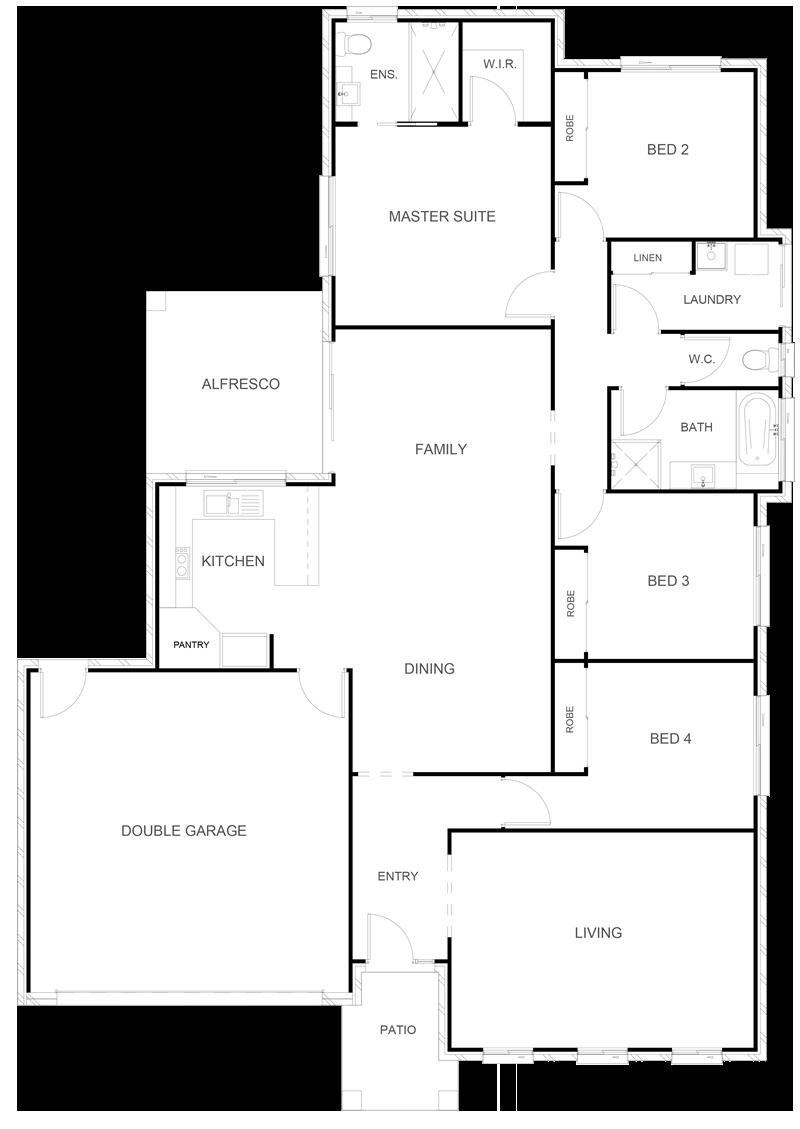 DELTA 209 Floor Plan