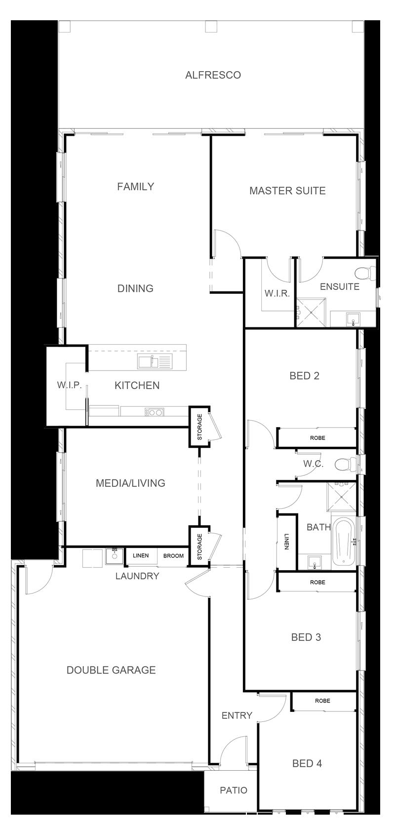 HUDSON 232 Floor Plan