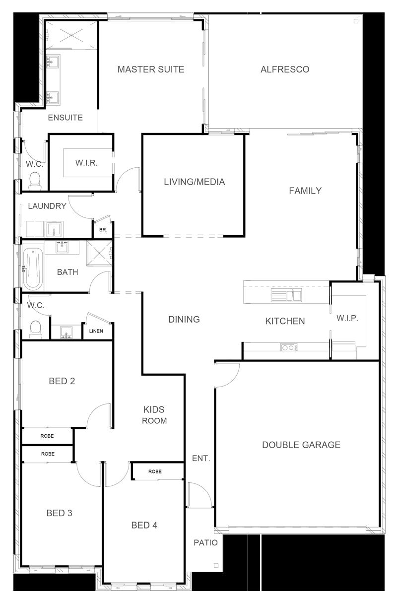 INDIANA 237 Floor Plan
