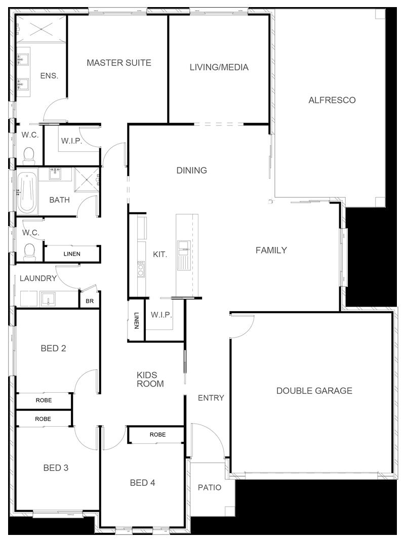 INDIANA 243 Floor Plan