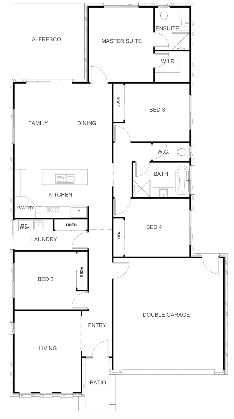 KATHERINE 204 Floor Plan