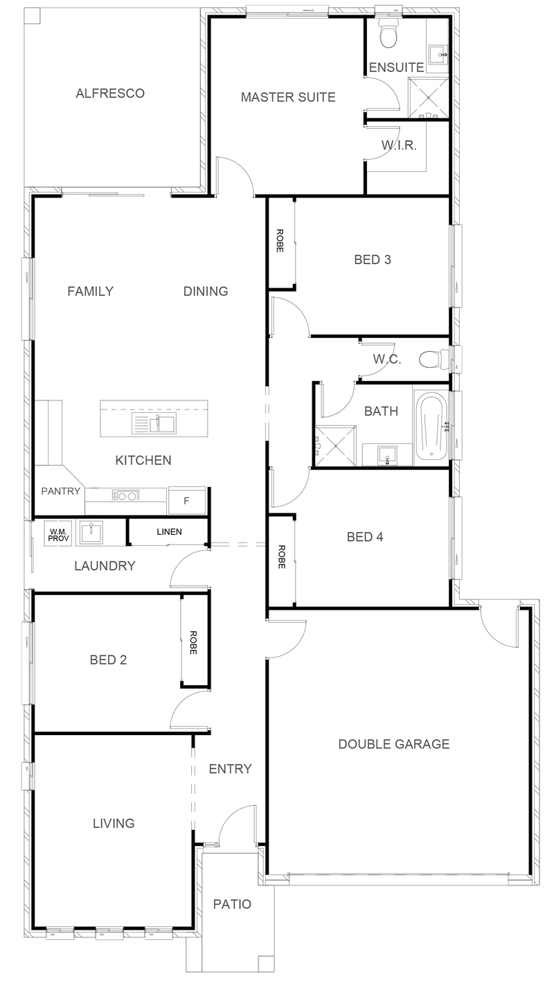 KATHERINE 202 Floor Plan