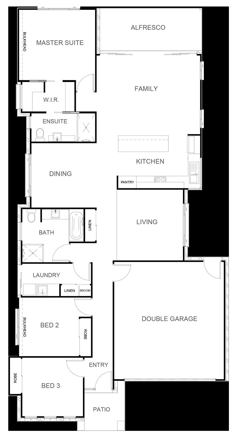 MONTANA 184 Floor Plan