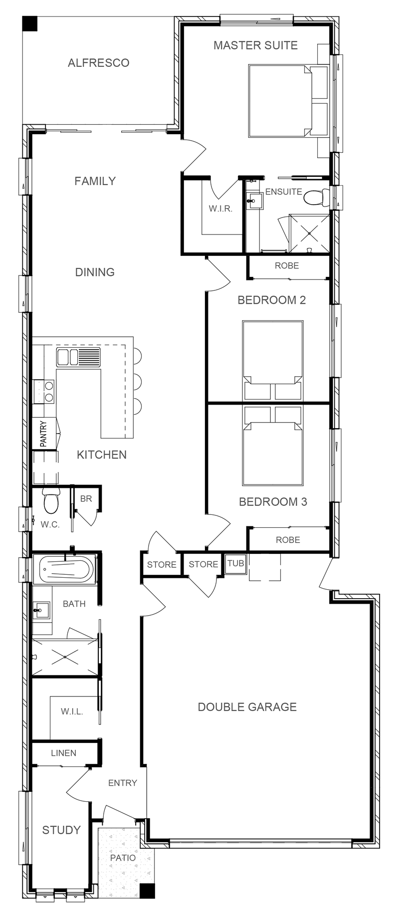 NEBRASKA 172 Floor Plan