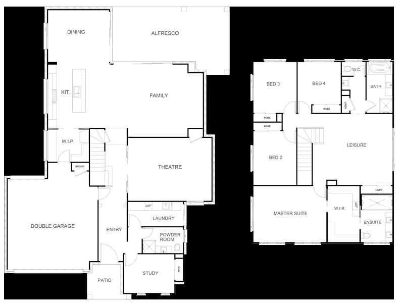 ORLANDO 366 Floor Plan