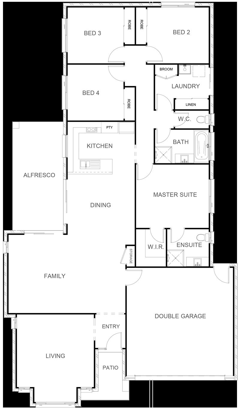 PARIS 217 Floor Plan