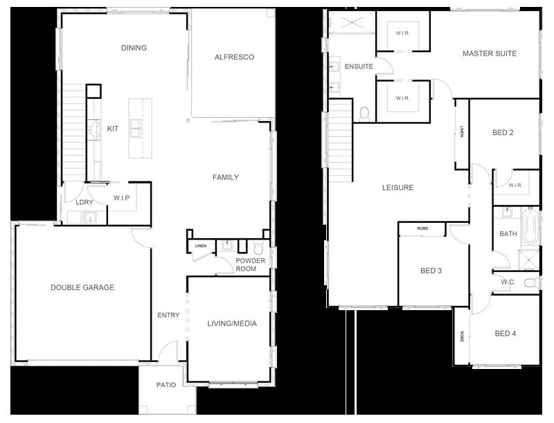 SIERRA 297 Floor Plan