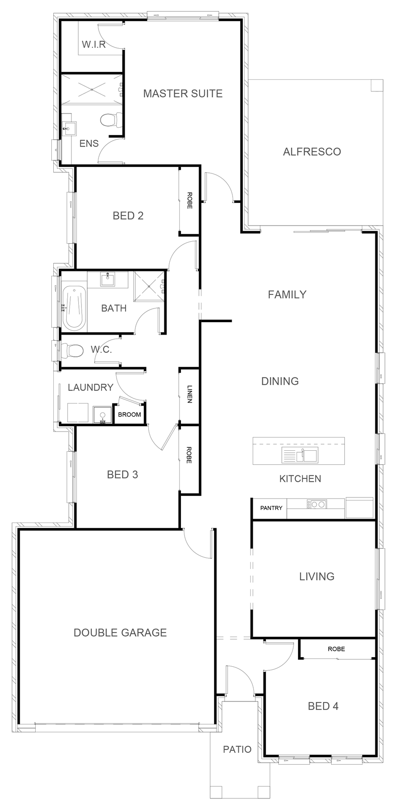 SORRENTO 209 Floor Plan