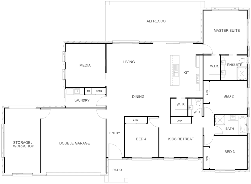 TENNESSEE 271 Floor Plan