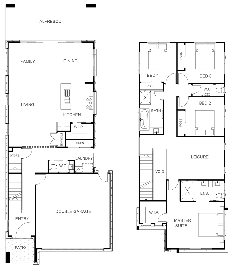VIENNA 248 Floor Plan