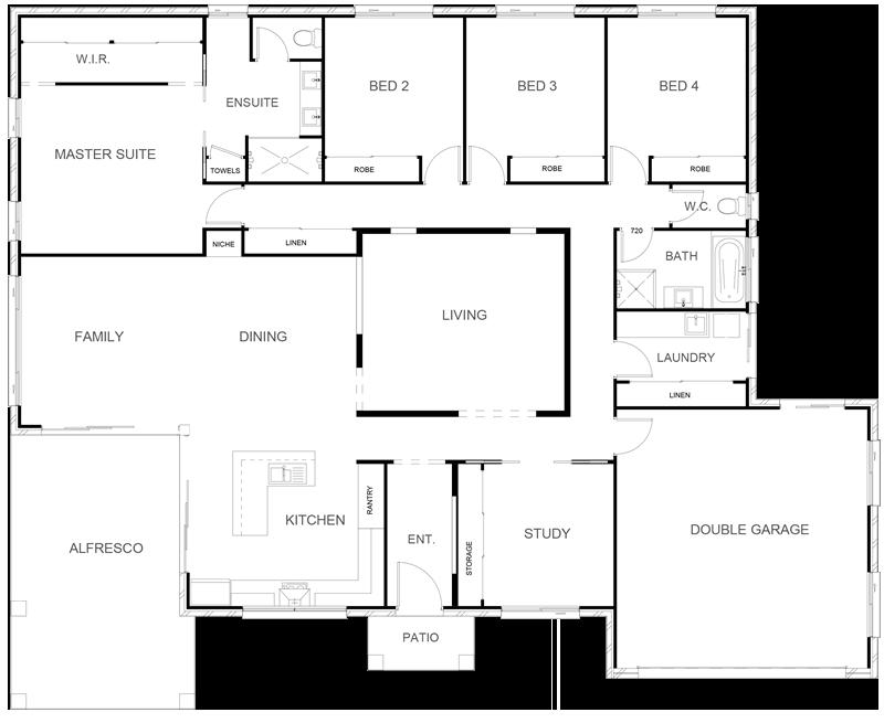 WILLOW 278 Floor Plan