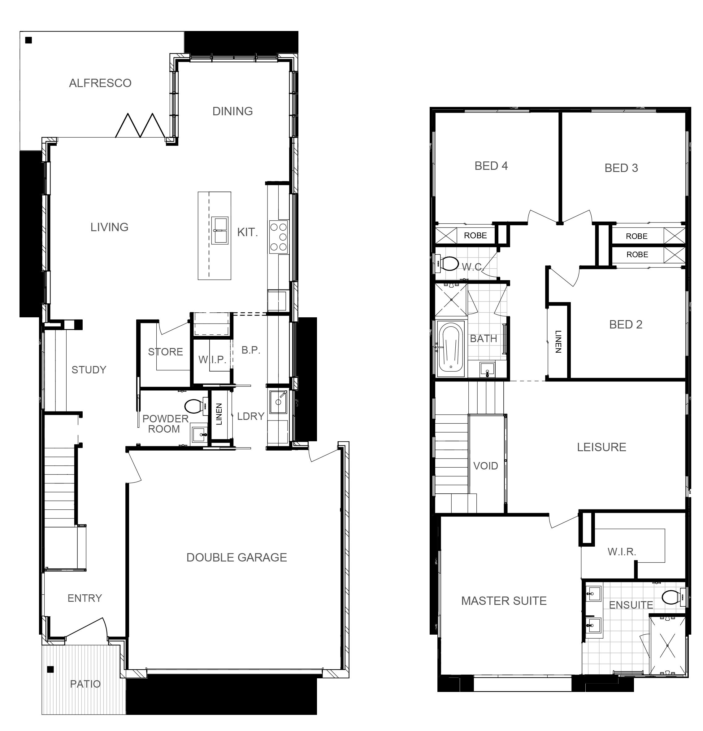 ASPEN 243 Floor Plan