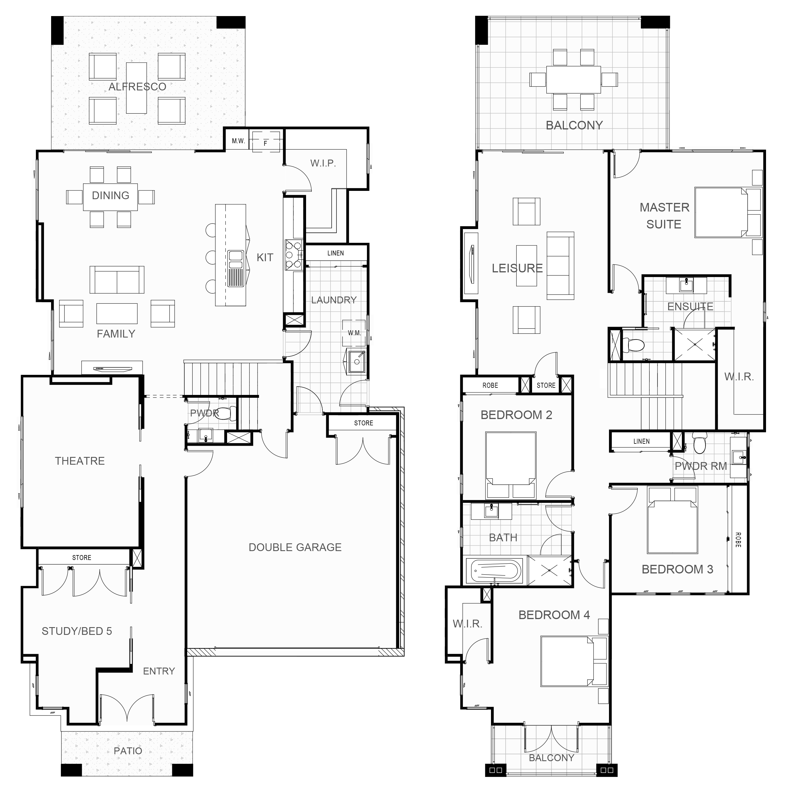 Arlington 357 Floor Plan