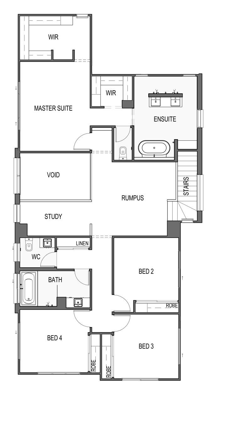 Maddison 337 2nd Floor Plan